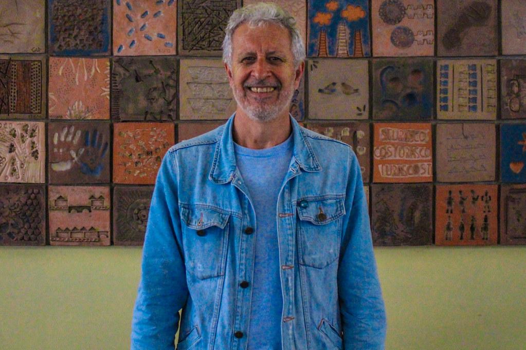 7 -NIlton Pinho de Bem, economista. Responsável pela projetos realizados nas ocupações Macali e Brilhante. Foto - Maiara Rauber.jpg