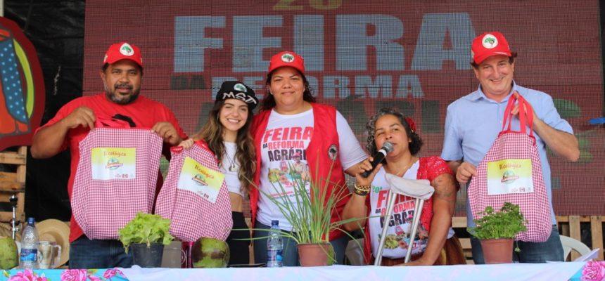 """""""Com alimentação saudável e agroecologia nós vamos derrotar Bolsonaro"""""""