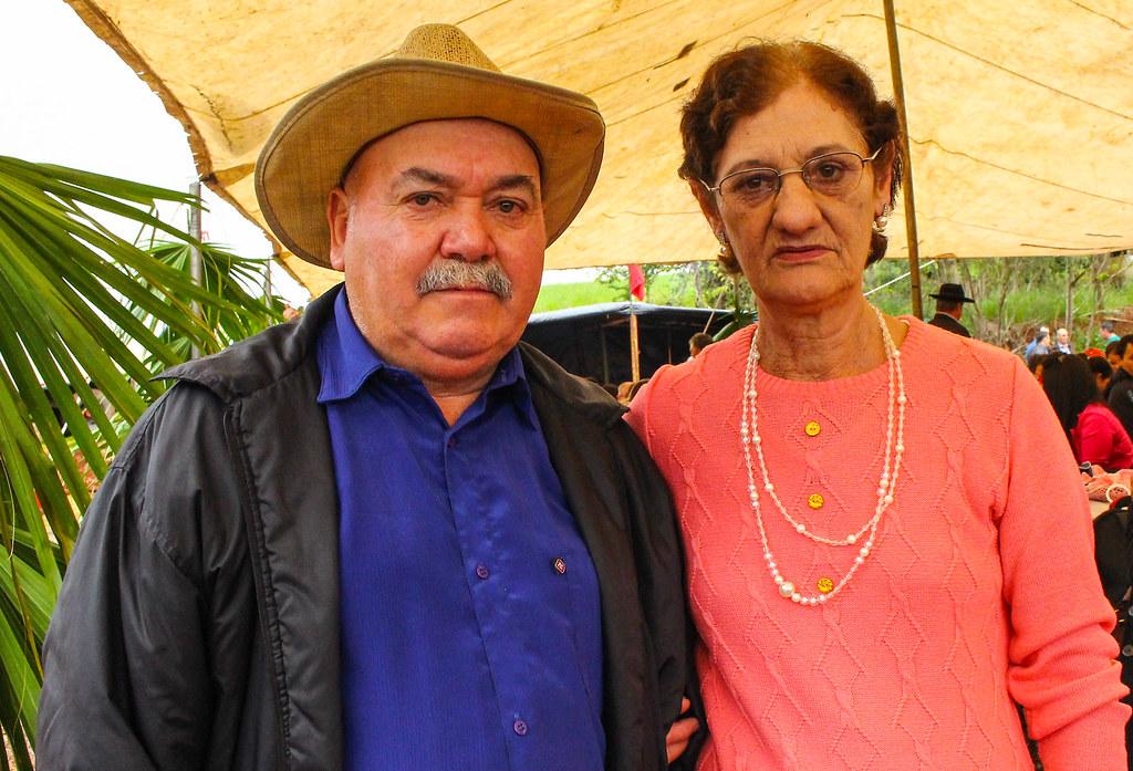 Anoldo e Dineta Vieira fizeram parte dessa luta e foram assentados na Brilhante. Foto - Catiana de Medeiros..jpg