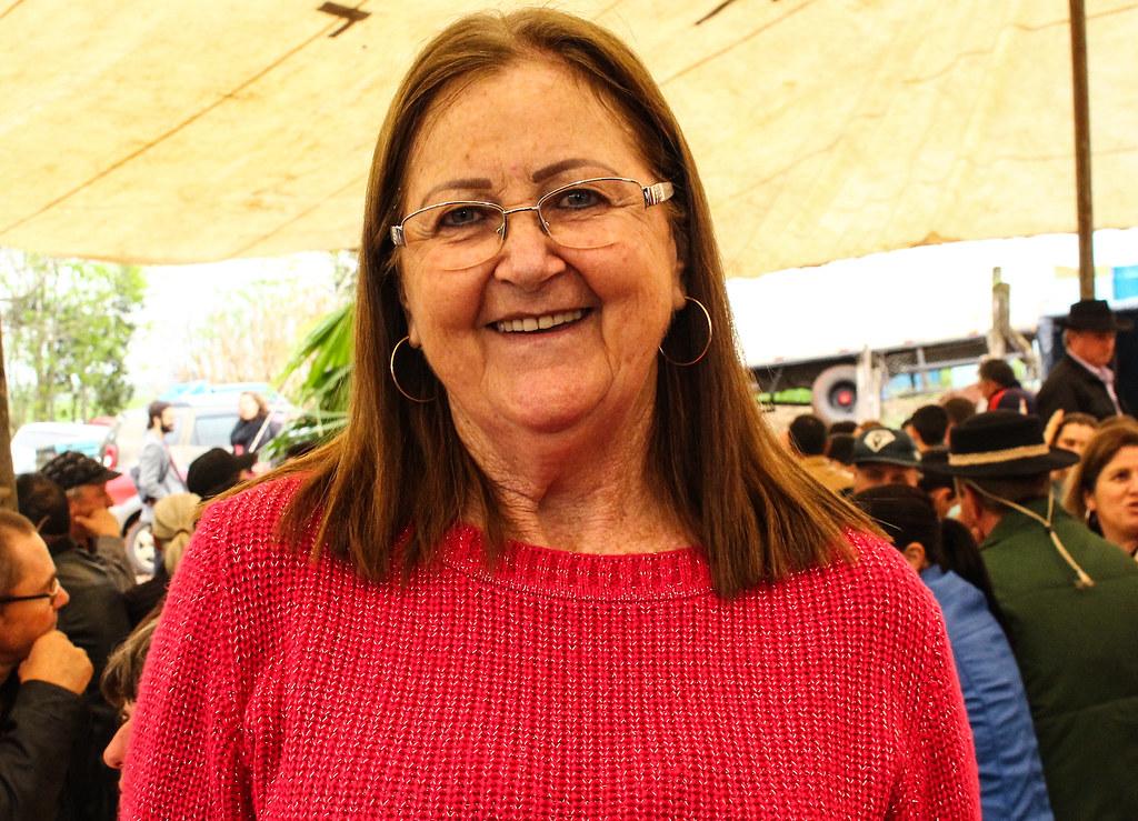 Dusnelda Pinheiro, assentada na Macali, se lembra da época com carinho. Foto - Catiana de Medeiros.jpg