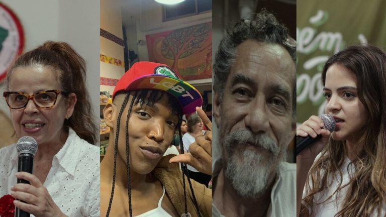 artistas comemoram 1 ano de Armazém do Campo