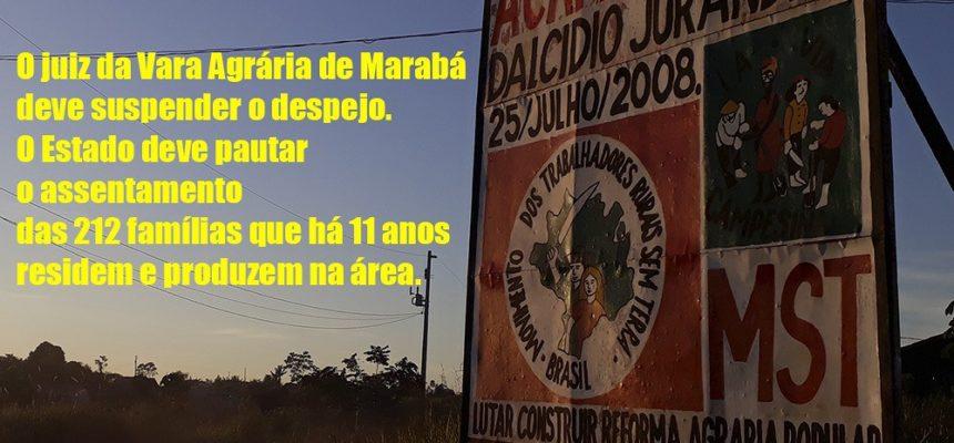 Despejo em acampamento no Pará é adiado