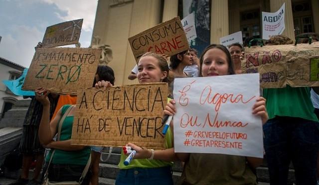Greve pelo clima vai paralisar cidades de todo o mundo em defesa do meio ambiente