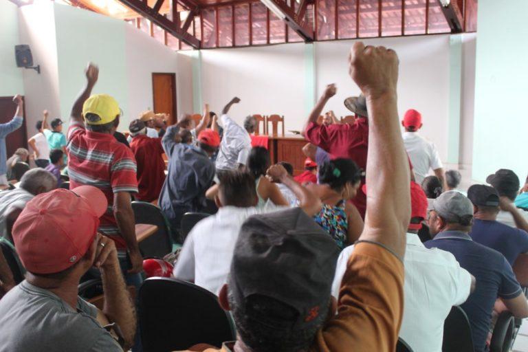 famílias Sem Terra pedem saída de superintendente do INCRA Marabá