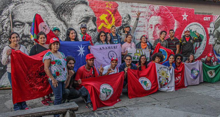 Movimentos campesinos de 6 países se somam aos atos por soberania em Curitiba