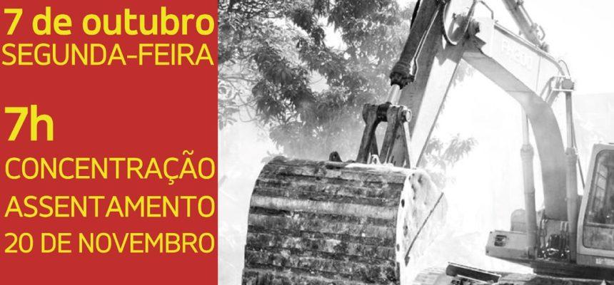 Organizações urbanas e rurais protestam por moradia em Porto Alegre