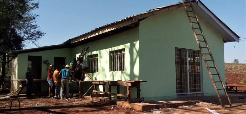 Bispos inauguram capela em comunidade da reforma agrária em Barbosa Ferraz, no Paraná