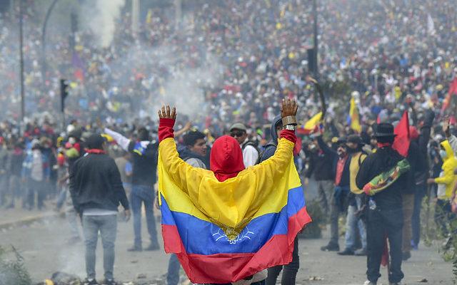 América Latina está no epicentro da luta popular contra o neoliberalismo