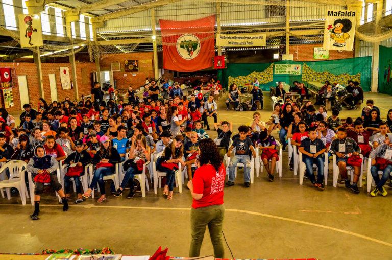 MST/RS inicia o 19º Encontro Estadual das Crianças Sem Terrinha