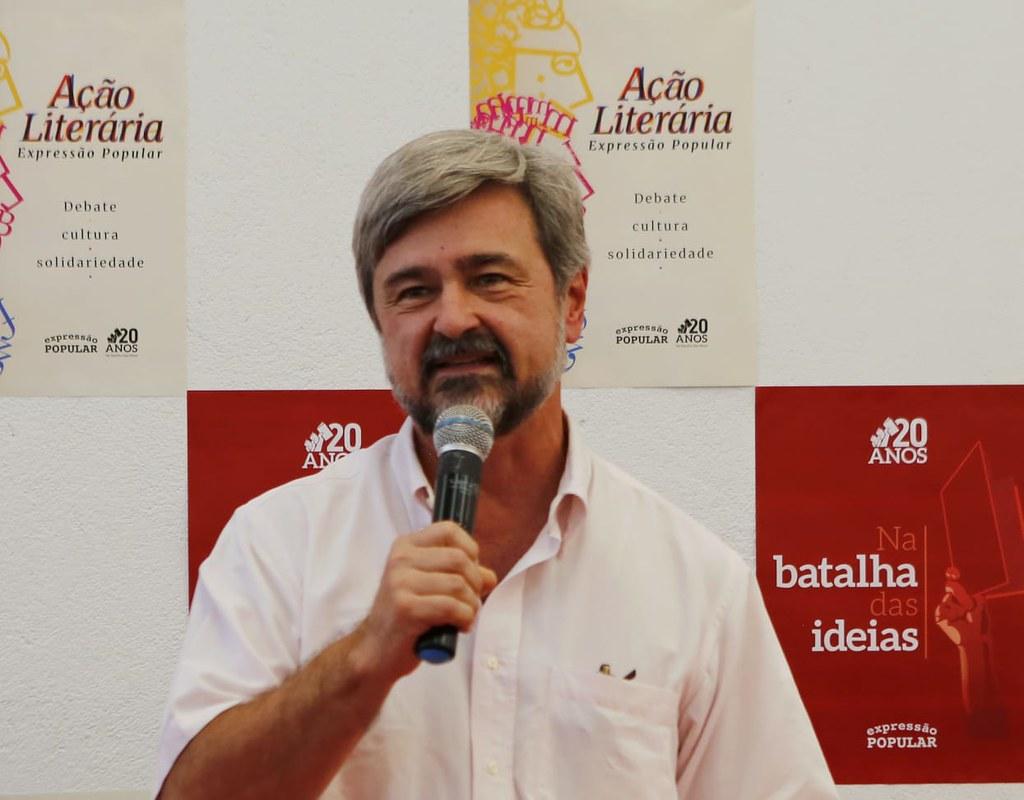 Ricardo Gebrim, da direção nacional da Consulta Popular. Foto_Claudio Kbene.jpg