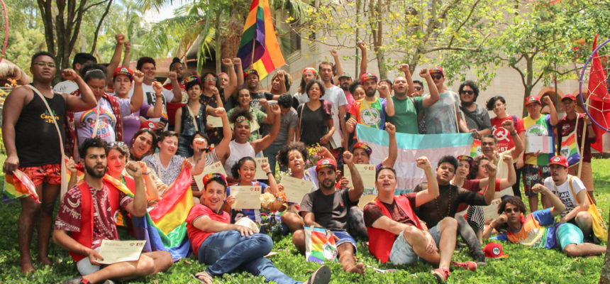 """""""Se não tiver LGBT, não pode ser nossa revolução"""""""
