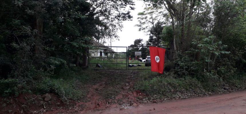 Brigada Militar intimida ocupação do MST em Taquari, no RS