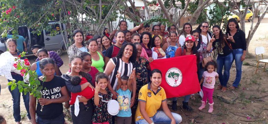 Baianas se organizam para 1º Encontro Nacional das Mulheres Sem Terra