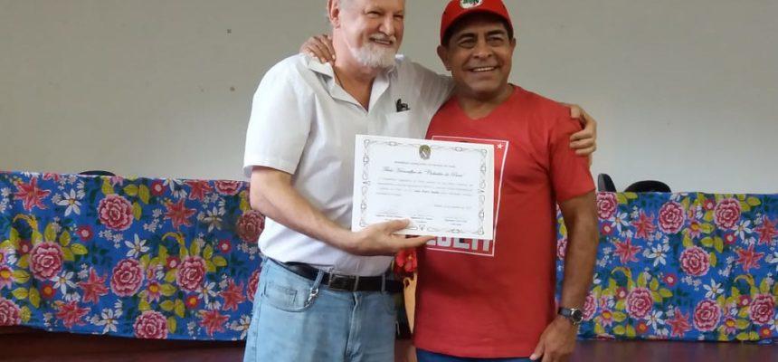 João Pedro Stedile recebe o título de Cidadão Paraense