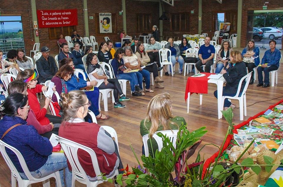 Oitava edição do encontro provocou reflexões coletivas acerca da educação nas escolas. Foto - Maiara Rauber..jpg