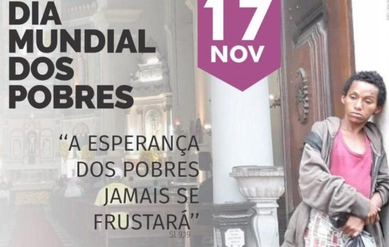 Pastorais Sociais e Cáritas Brasileiras realizam roda de conversa no Dia Mundial dos Pobres