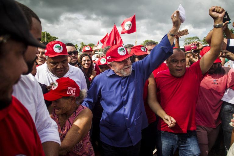 Lula Livre! Acompanhe o pronunciamento ao vivo