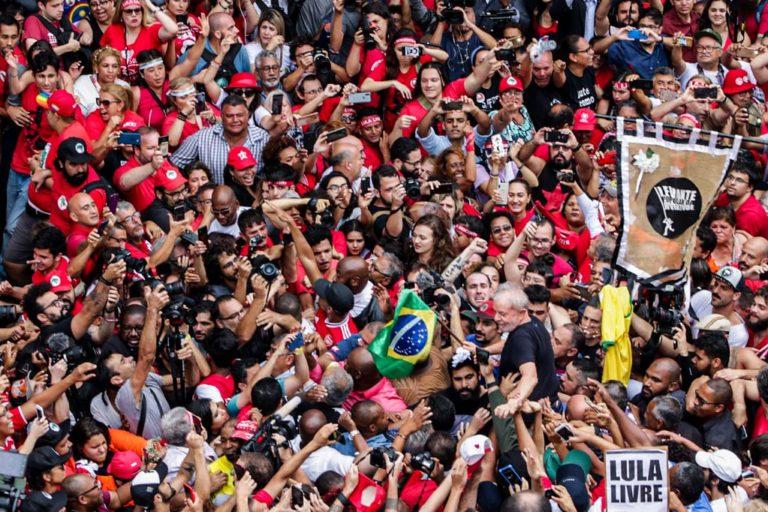 Lula fala sobre luta