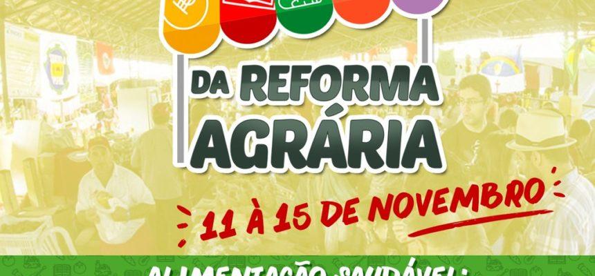6ª Feira Estadual da Reforma Agrária em Sergipe