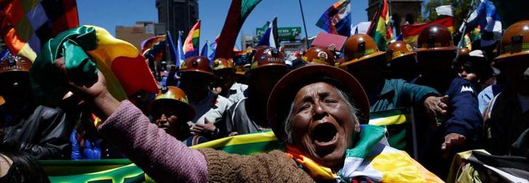 Via Campesina Internacional denuncia golpe de Estado na Bolívia