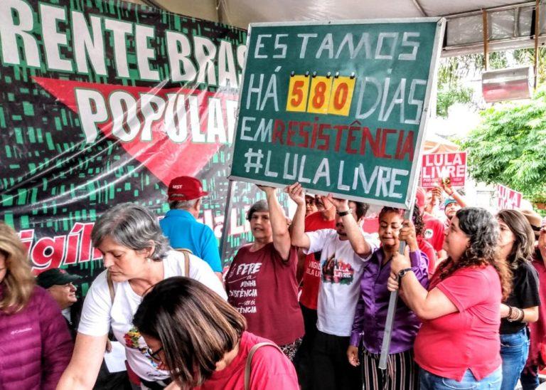 União entre religiões manteve acesa a espiritualidade da Vigília Lula Livre