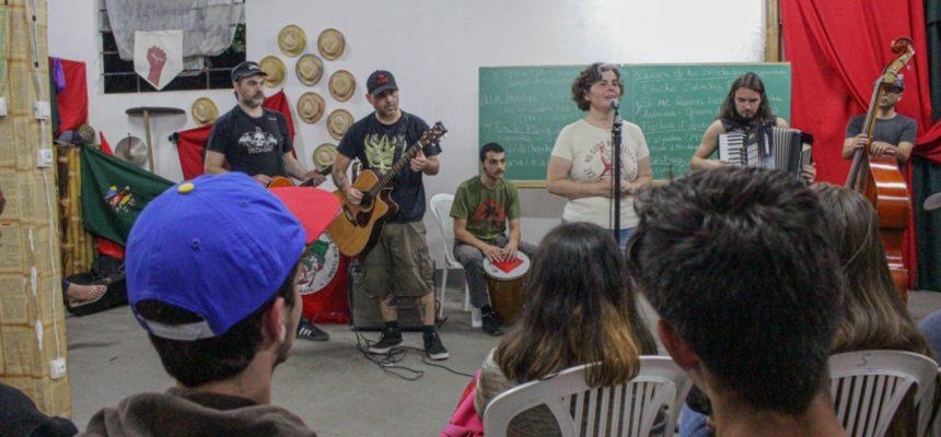 3º Curso de Música do MST-PR reúne 60 educandos do campo e da cidade