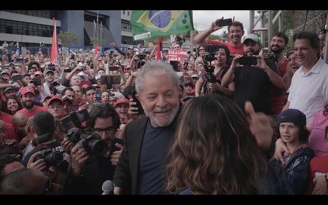 Saída do Lula da prisão em Curitiba e Ato no ABC