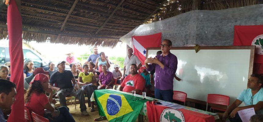 No Pará, MST realiza assembleia sobre ameaças de despejo