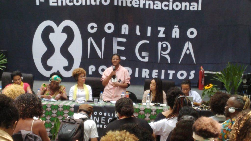 I Encontro Internacional da Coalizão Negra por Direitos - MST