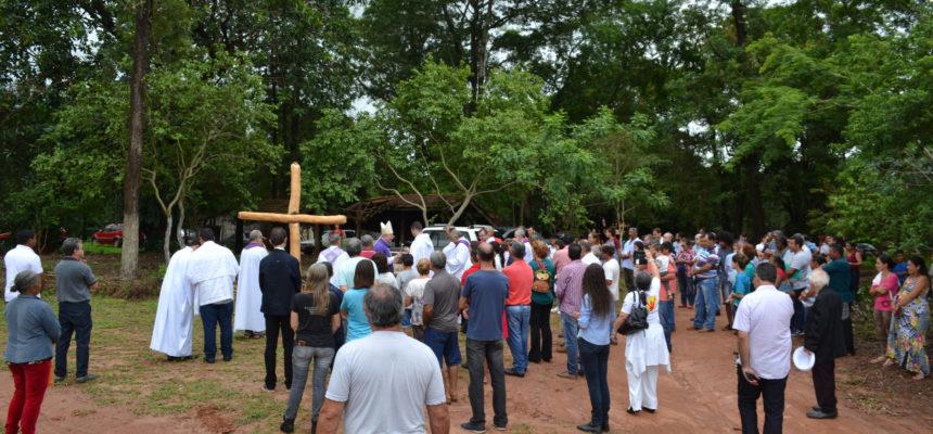 Bispo e padres celebram missa pelos 23 anos de pré-assentamento no Paraná