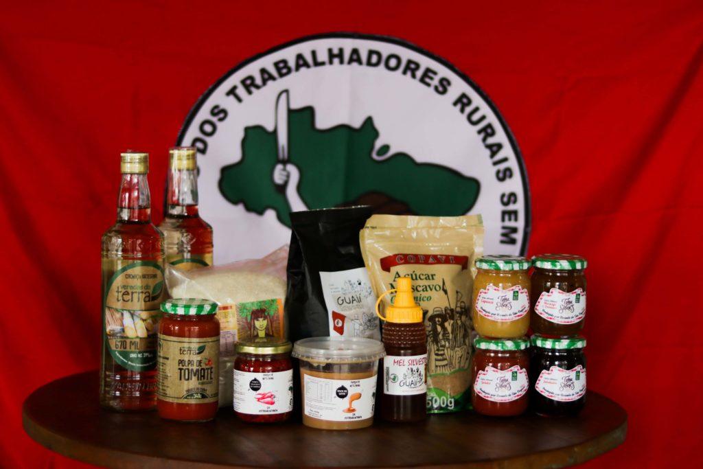 Cesta da Reforma Agrária / Foto: Agatha Azevedo