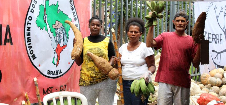 Feira Cícero Guedes une campo e cidade na capital carioca