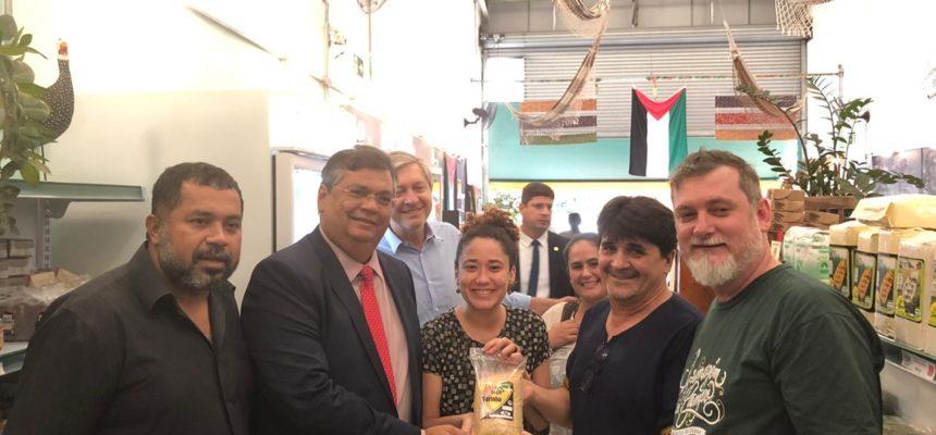 Armazém do Campo-SP recebe a visita do governador do Maranhão, Flávio Dino