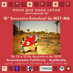 MST realiza Encontro Estadual no Maranhão neste fim de semana
