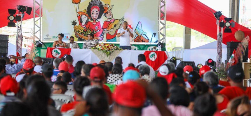 Começou! MST reúne mais de 1300 Sem Terra no 32º Encontro Estadual do MST na Bahia