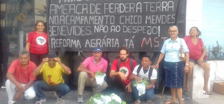 Famílias Sem Terra se reúnem na Defensoria Publica do Estado do Pará