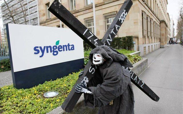 Pesticida da Syngenta contamina a água dos brasileiros