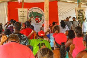MST realiza curso de formação com trabalhadores Sem Terra, na Bahia