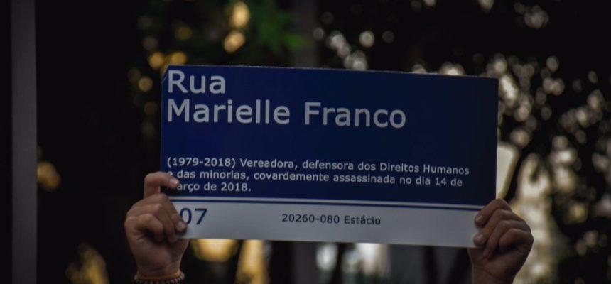 Pela vida das mulheres, somos todas Marielle!