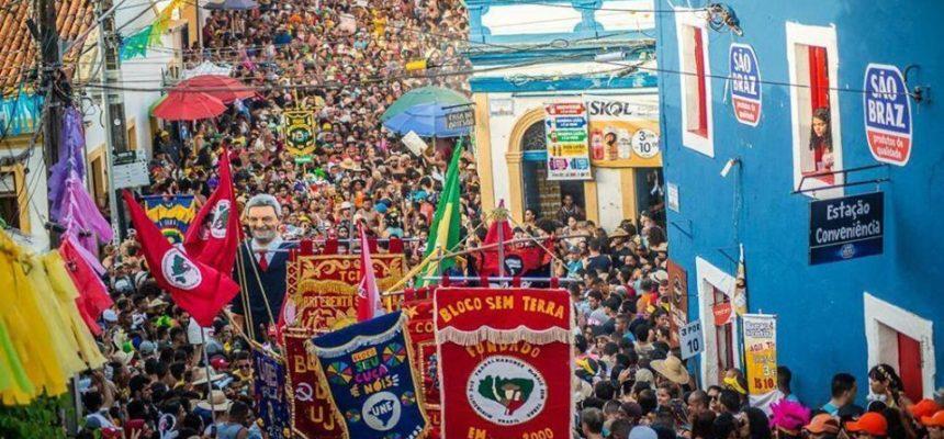 MST ocupa as ruas do Brasil com alegria e resistência durante o Carnaval