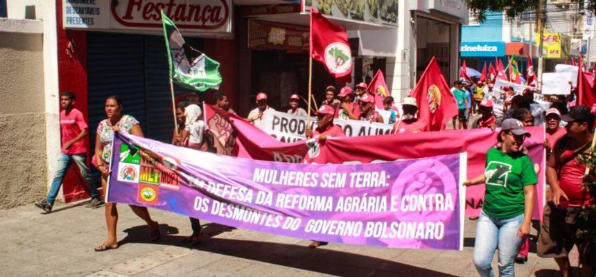Sem Terra ocupam Incra e Secretaria de Agricultura de Alagoas em defesa da Reforma Agrária