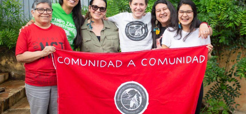 Mulheres internacionalistas ressaltam a importância do MST na luta contra o capital