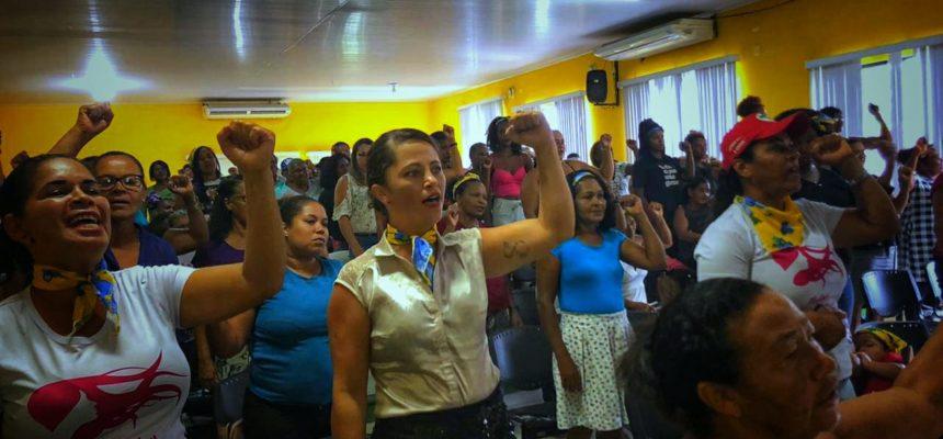Mulheres se mobilizam em toda a Bahia durante Jornada de Lutas