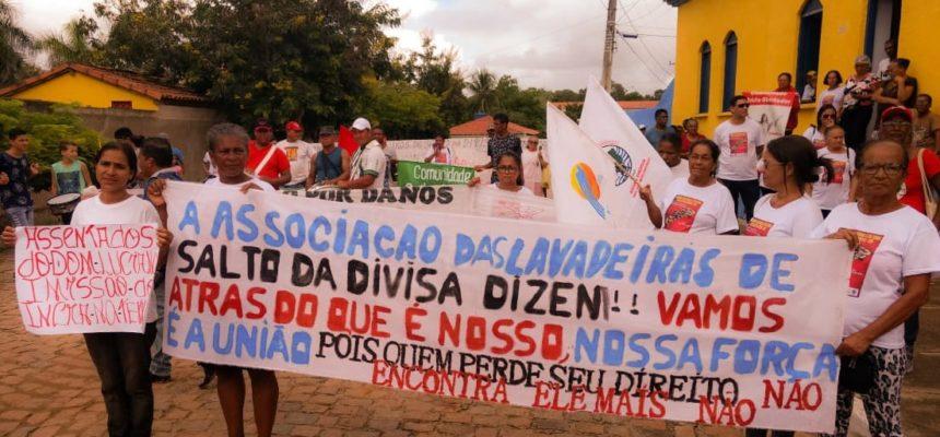Em Salto da Divisa, movimentos se unem contra violação de direitos