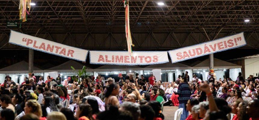 Encontro histórico reúne mulheres do MST de todos os estados em Brasília