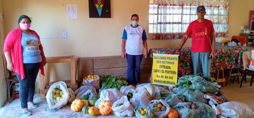 MST doa mais de 2,5 toneladas de alimentos no RS