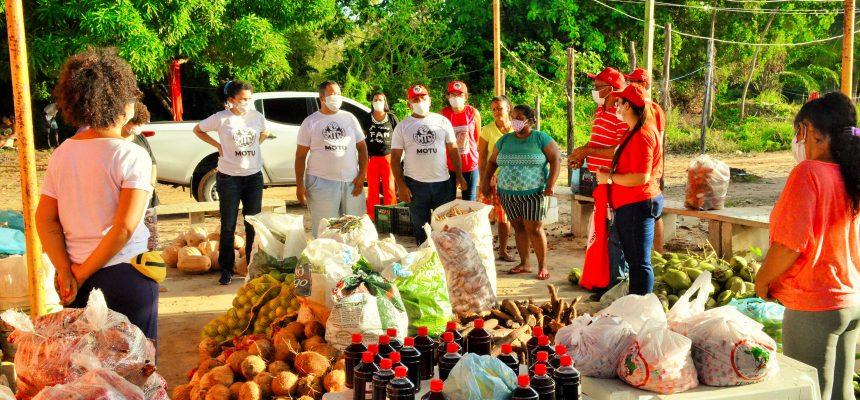 Em Sergipe, Sem Terra realizam doações de alimentos para trabalhadores urbanos