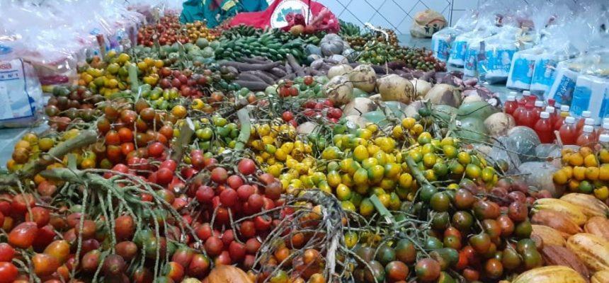Assentamento Abril Vermelho comemora 16 anos com doações de alimentos saudáveis, no Pará