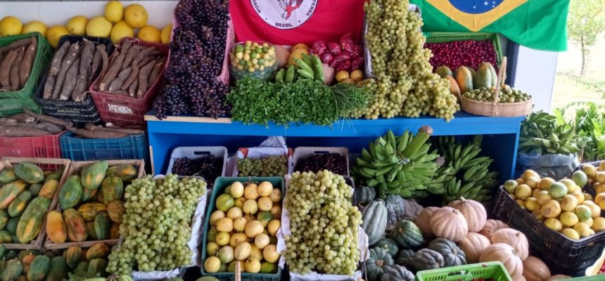 Na Bahia, MST doa 200 toneladas de alimentos durante Jornada de Lutas