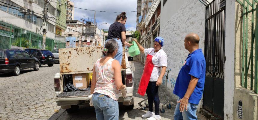 No Rio de Janeiro, movimentos populares criam campanha para ajudar comunidades em meio à pandemia